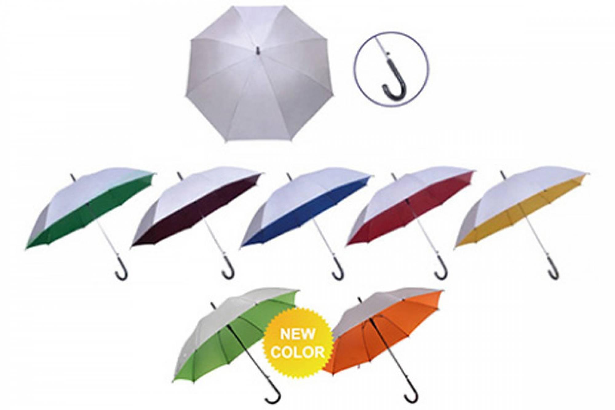 24 Silver Coated Umbrella